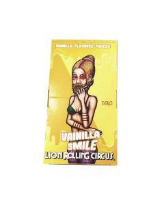 Caixa de Seda Lion Rolling Circus Sabor Baunilha 1 1/4