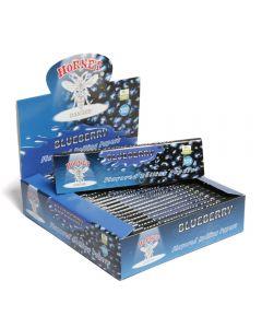 Caixa de Seda Sabor Blueberry Hornet King Size