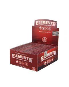 Caixa de Seda Elements Red King Size Slim